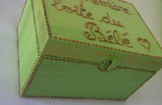 DIY n°1 : Comment faire une boîte à souvenirs pour bébé ?