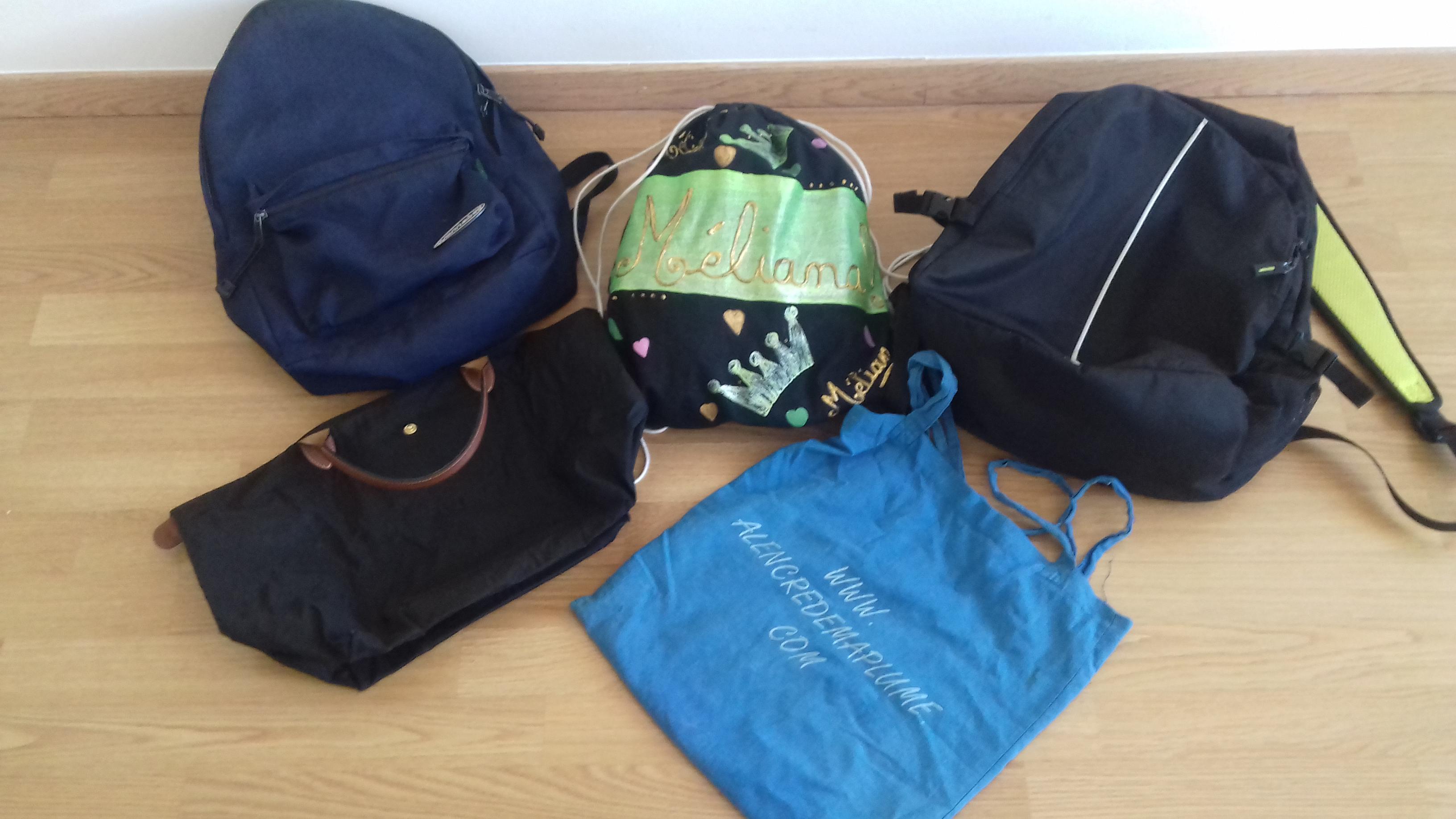 5 sacs pour remplacer votre sac à langer