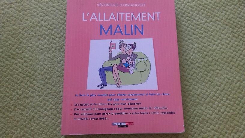 """""""L'allaitement malin"""" : un livre à se procurer forcément"""