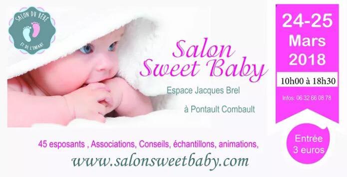 Le Salon Sweet Baby aura lieu à Pontault-Combault les 24 et 25 mars 2018