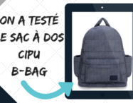 On a testé le sac à dos CIPU B-Bag
