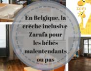 En Belgique la crèche inclusive Zarafa pour bébés malentendants ou pas
