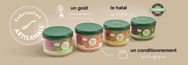 Bio et halal dans les petits pots Tiny-Menu
