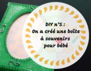 DIY n°5 : On a créé une boîte à souvenirs pour bébé 5